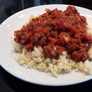 couscous gehakt tomatensaus