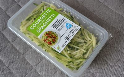 Foodreview: courgette spaghetti van AH