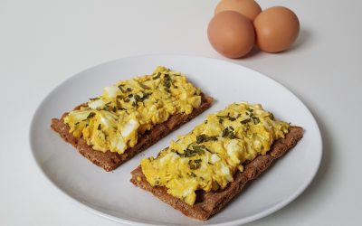 Makkelijk en gezond: zelfgemaakte eiersalade