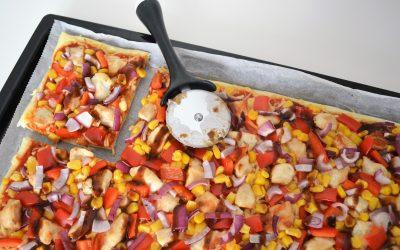 Friday favorite: BBQ chicken pizza