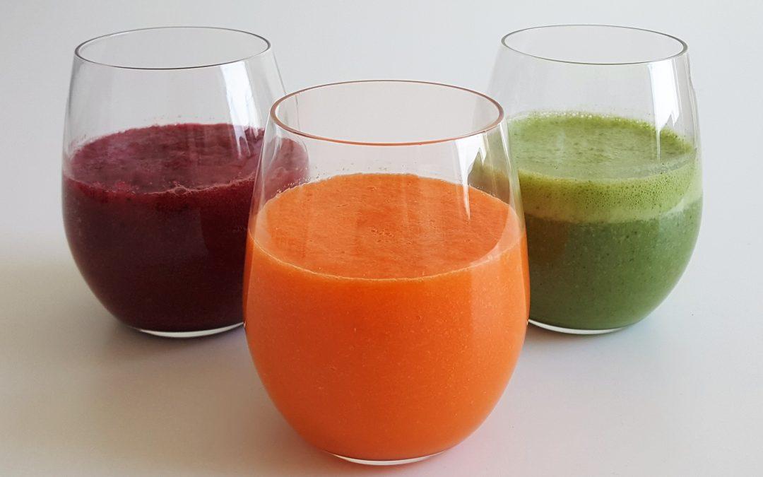 3x lekkere en gezonde (groente)smoothies